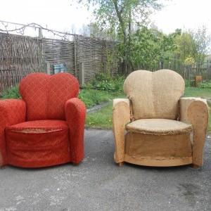 Deco-zetels voor